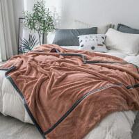 君别家纺INS毛毯加厚保暖被子冬季毯子珊瑚绒床单床垫被床单单件