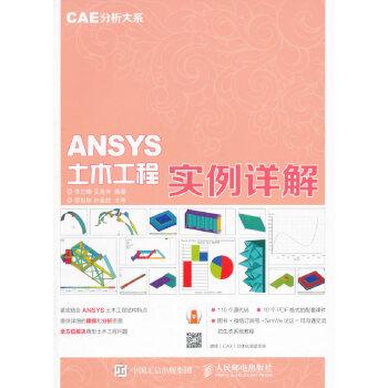 CAE分析大系 ANSYS土木工程实例详解工程和科研一线案例详解,提供110个源代码,全方位解决典型土木工程问题