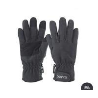 自行车手套户外骑行防滑手套 山地车户外保暖抓绒手套