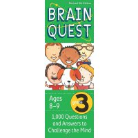 英文原版 Brain Quest Grade 3, revised 4th edition 智力开发系列:3年级益智 ISBN9780761166535
