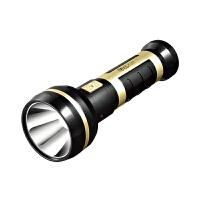 雅格led强光手电筒 充电式户外登山露营家用手电筒高亮大功率灯珠手电