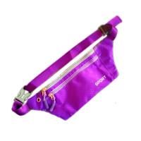 ?运动跑步腰包跑步装备男女户外多功能腰包贴身手机包马拉松腰带? 7_紫色 贴身款