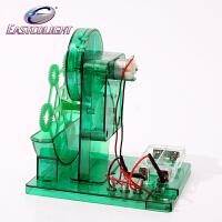 香港怡高科学实验儿童科技小制作科普物理益智DIY玩具 吹泡泡机