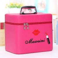 少女心化妆包大容量小号便携韩国简约可爱收纳盒品大号手化妆箱