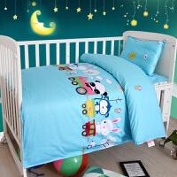 幼儿园被子三件套棉儿童专用午睡被褥含芯六件套宝宝入园床品夏定制