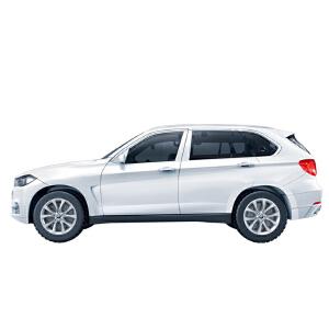 【当当自营】邦宝宝马X5系正版授权98粒汽车车辆模型益智拼装回力车积木玩具6803-2白色