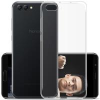华为荣耀V10手机壳 白色透明软套 荣耀 V10 保护套 全包保护壳 V10保护壳