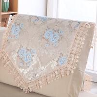 防尘欧式沙发靠背巾沙发垫蕾丝花边沙发盖布扶手巾沙发巾布艺