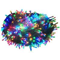 户外彩灯 led小彩灯闪灯串灯满天星七彩变色霓虹星星灯户外圣诞节日装饰灯 100米1000灯【暖白】
