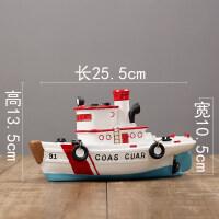 北欧简约帆船模型小摆件现代创意家居客厅壁橱电视酒柜装饰品摆设