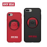 ROCK iPhone7plus手机壳磨砂防摔卡通个性苹果7可爱情侣手机套硬壳