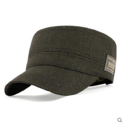 男士帽子韩版潮春夏季军帽户外休闲遮阳帽欧版平顶帽