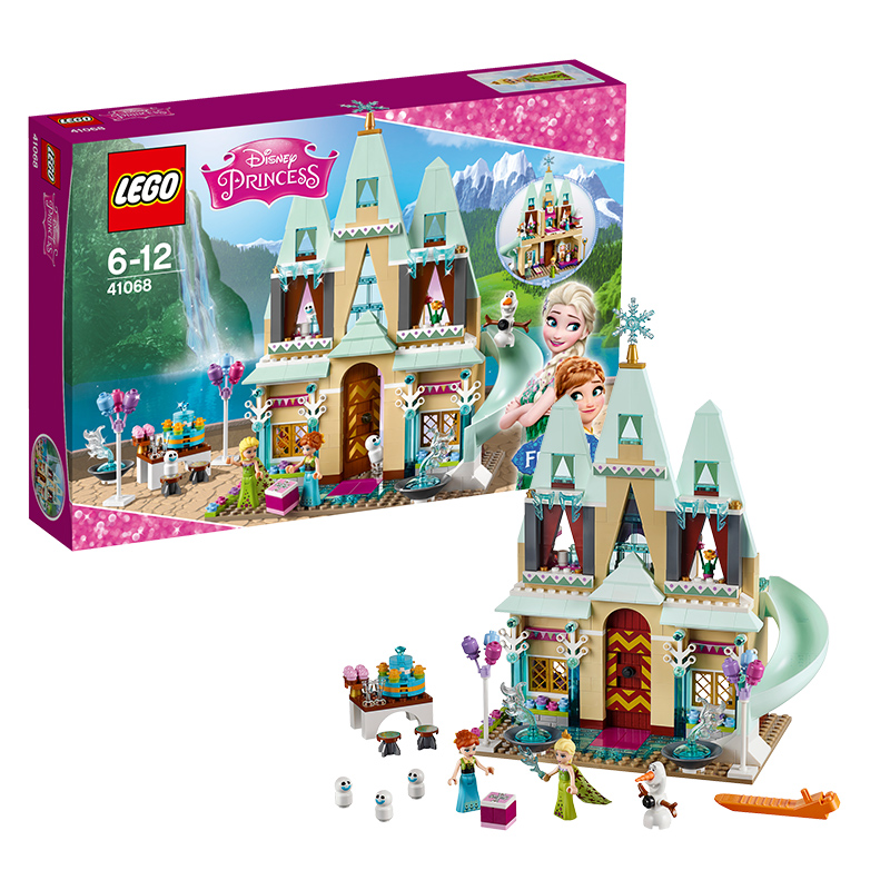[当当自营]LEGO 乐高 迪士尼系列 艾伦戴尔城堡庆典 积木拼插儿童益智玩具 41068【当当自营】2016年新品!适合6-12岁,477pcs小颗粒积木