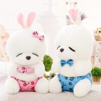 可爱兔子毛绒玩具女生情侣兔公仔女孩娃娃玩偶儿童情人节礼物萌