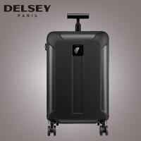 (可礼品卡支付)Delsey 法国大使拉杆箱 2015新品静音万向轮旅行箱 行李箱硬箱