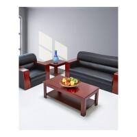 办公沙发 商务接待皮艺沙发 办公室会客皮沙发茶几组合简约
