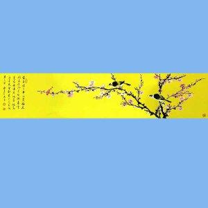 中美协会员,中书协会员,国家一级美术师,中国书画家杂志社艺术总监薛大庸(花鸟)3