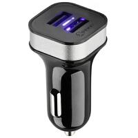 高欣车载充电器G5手机通用3.6A双USB一拖二12V/24V点烟器汽车充