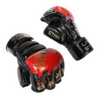 男女打沙袋训练手套 格斗MMA搏击拳套 UFC拳击手套成人半指散打手套