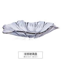 20191201032749539花瓣欧式水晶果盘创意时尚个性现代简约客厅家用大号玻璃水果篮