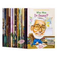 Who Was/Is系列作家13册 英文原版 世界名人传记 美国儿童传记 初级章节书