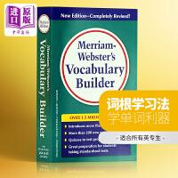 预售韦氏词典 Merriam Webster's Vocabulary Builder 韦氏字根词典语汇 英文原版 工具书 原版词典