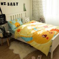 [当当自营]wz.baby全棉三件套单人1.2m床阳光小兔