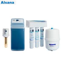 怡口 Alsana阿尔莎娜前置EST-ASF100全自动反冲过滤器智能控制+Alsana阿尔莎娜软水机EST-R15型