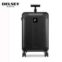 【促】DELSEY法国大使拉杆箱20寸新品静音万向轮旅行箱 行李箱登机箱