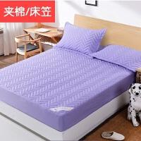 床笠单件加厚夹棉床罩床垫套席梦思保护套棕垫防滑1.8m1.5米床套