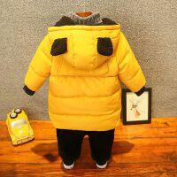 童装男童加厚棉衣外套新款儿童羽绒棉袄潮韩版季宝宝中长款