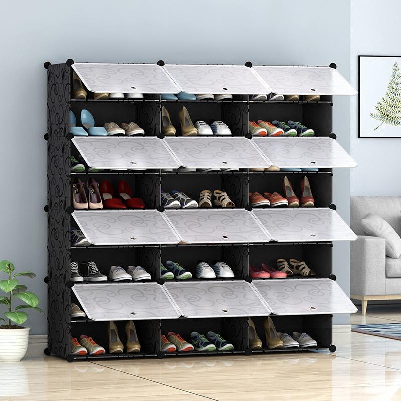 简易鞋架经济型家用家里人多功能小鞋柜省空间简约现代门厅式 本店部分商品为定金价格,选项非实物图,下单前联系确认及大件商品修改运费,否则本店