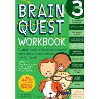 智力开发系列:3年级练习册 英文原版 Brain Quest Workbook Grade 3 智力开发系列:3年级练习册
