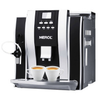 【当当自营】  美宜侬 ME-709 咖啡机 意式全自动咖啡机磨豆家用/商用/办公意式高压双锅炉奶泡