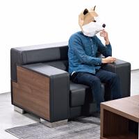 办公家具皮艺沙发会客区商务洽谈接待室皮沙发组合SF2201