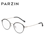帕森 金属眼镜架 男女复古板材圆框眼镜框 可配近视 新品15711