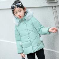 女童装棉衣2017新款韩版童装儿童保暖外套短款棉袄中大童潮