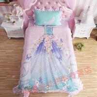 儿童床女孩 上下床单被罩三件套儿童卡通三件套
