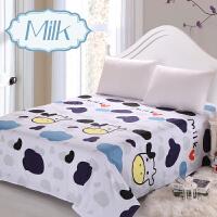 爱尚家纺老粗布床单单件纯棉加厚双人15米18m20床被单全棉布