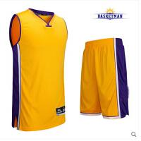 透气吸汗球衣定制diy印字图印图比赛训练服 篮球服套装男