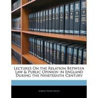 【预订】Lectures on the Relation Between Law & Public Opinion i