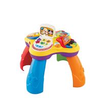 费雪小狗皮皮学习桌婴儿游戏桌多功能双语学习桌BJV34益智玩具