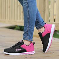 韩版时尚运动鞋女鞋秋季新款女跑步鞋防水轻便跑鞋休闲鞋子学生女鞋