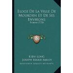 【预订】Eloge de La Ville de Moukden Et de Ses Environs: Poeme