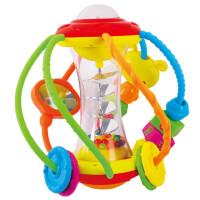 【当当自营】汇乐健儿玩具球宝宝益智球类摇铃婴儿手抓球3-6-12个月一岁929