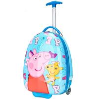 幼儿园男女童书包卡通蛋壳行李箱小学生硬壳拉杆箱可爱儿童旅行箱 16寸