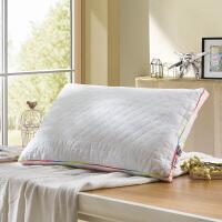 LOVO家纺 儿童枕头芯单人助睡眠枕芯3M新雪丽银纤维 新雪丽银纤维儿童枕