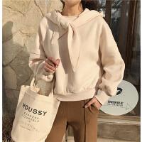 衣服女冬装新款韩版潮时尚个性裙子两件套裙时髦毛呢卫衣套装