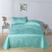 LOVO家纺席子床上用品竹纤维软席三件套夏季床单式夏凉席空调席 布林曼竹