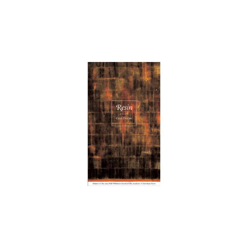 【预订】Resin: Poems 美国库房发货,通常付款后3-5周到货!